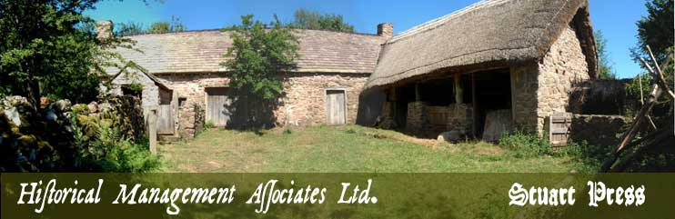 photo of Grayhill Farm, reconstructed early 17th century building